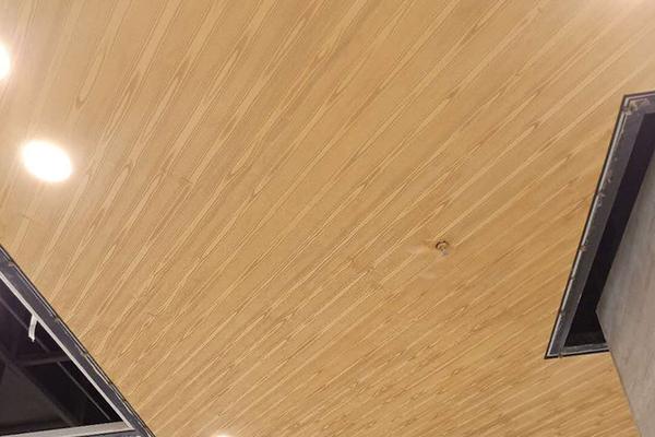 山西晋中万科朗润园一期商场吊顶