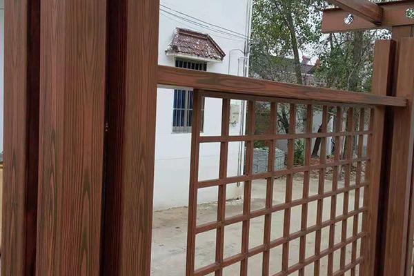 江苏南京市溧水区谢家钢构廊架木