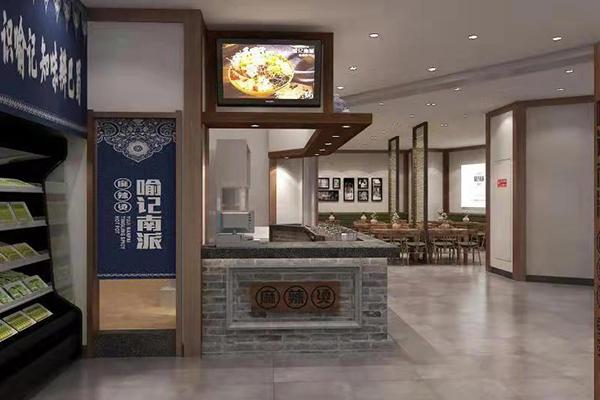 山东潍坊万达广场三楼餐饮店石膏