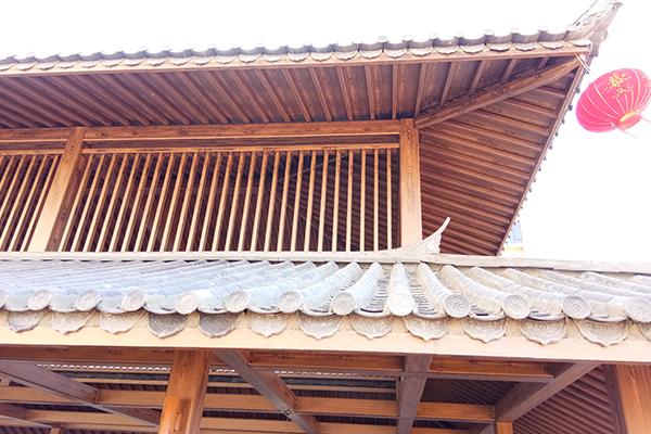 云南大理州海东镇下和村钢构仿木